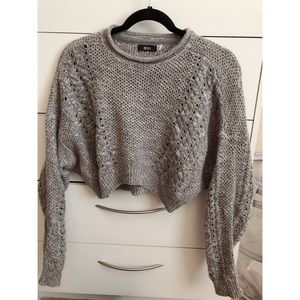 Urban outfitters crop sweater top